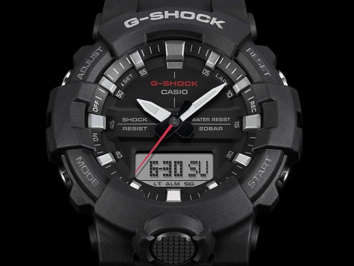 G-Shock GA-800-1A Traditional-Style Analog Watch