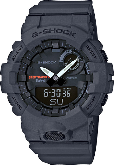 G-Shock GBA800-8A with Step Tracker