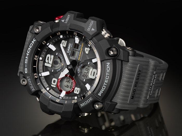 G-Shock GWG-100-1A8 Mudmaster Solar Watch