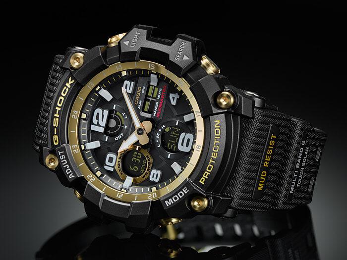 G-Shock GWG-100GB-1A Mudmaster Angle