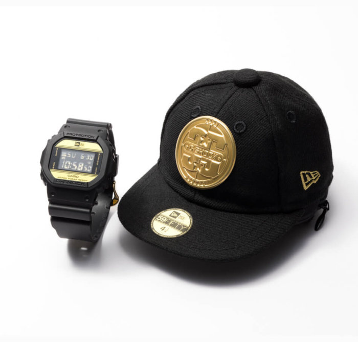 New Era x G-Shock DW-5600NE-1 Watch and Cap Case