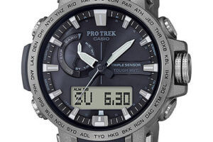 Pro Trek PRW-60T-7A with Titanium Band