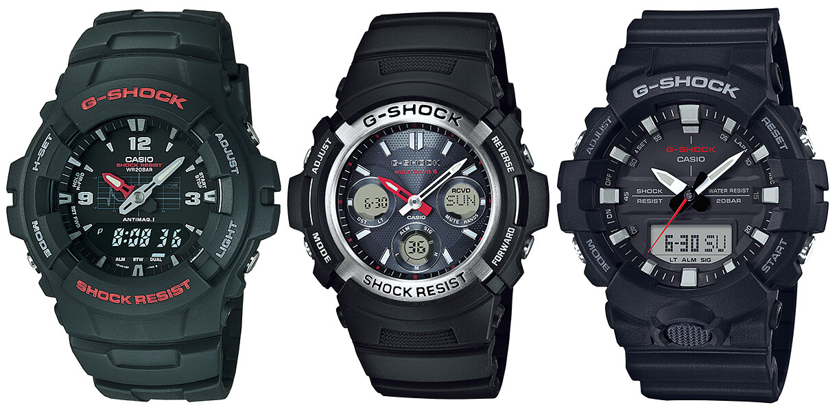 Mid-Size Casio G-Shock Watches For Smaller Wrists – G