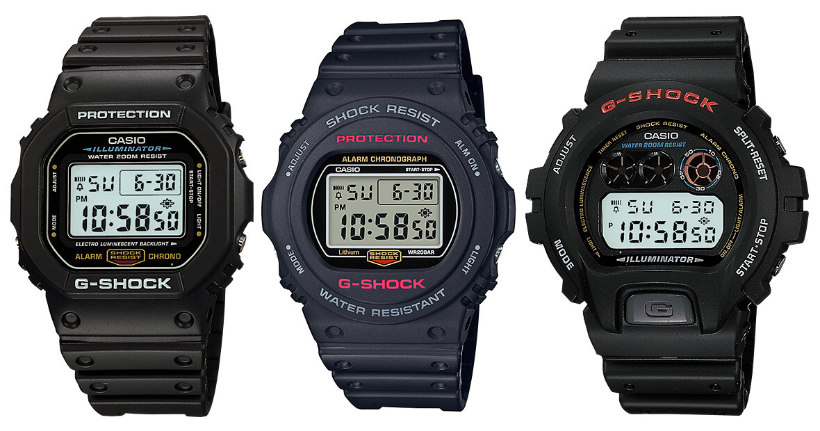 0527c5610d8 Mid-Size Casio G-Shock Watches For Smaller Wrists – G-Central G ...