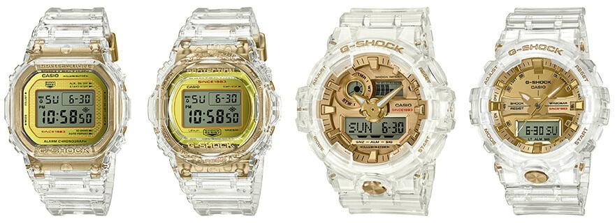 Qué os parece el nuevo G-Shock DW-5035E-7ER G-shock-35th-anniversary-glacier-gold-collection