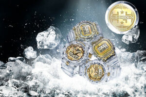 G-Shock Glacier Gold (Skeleton Gold) 35th Anniversary Collection