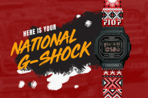 Philippines National G-Shock 'Habi' by Dylan Dylanco