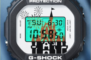 Tokyo Disney Resort 35th Anniversary x G-Shock DW-5600 Watch EL Backlight