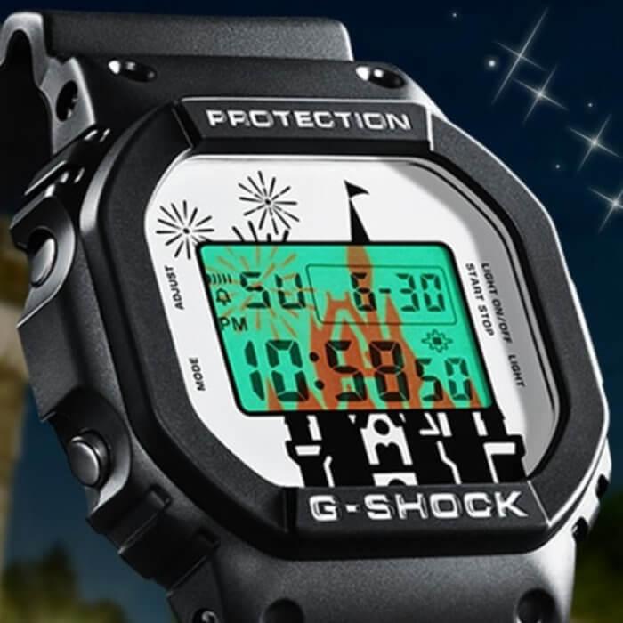 Tokyo Disney Resort 35th Anniversary x G-Shock DW-5600 Collaboration Watch