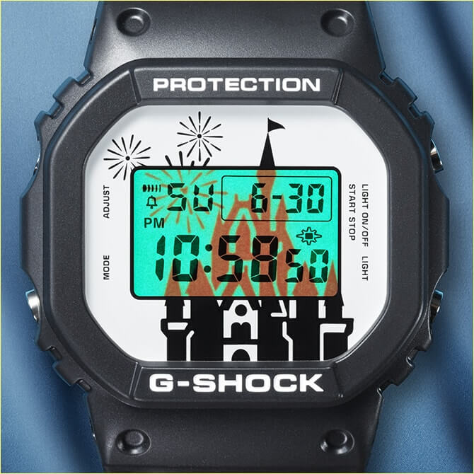 Tokyo Disney Resort 35th Anniversary x G-Shock DW-5600 Watch EL Backlight