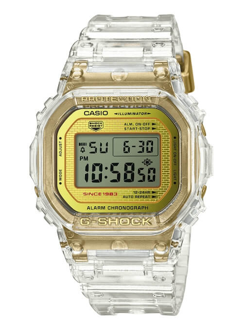 G-Shock DW-5035E-7 Glacier Gold 35th Anniversary