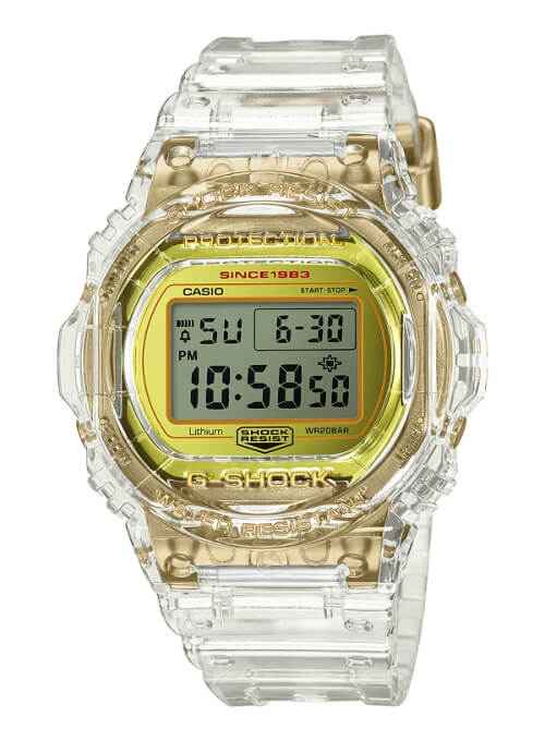 G-Shock DW-5735E-7 Glacier Gold 35th Anniversary