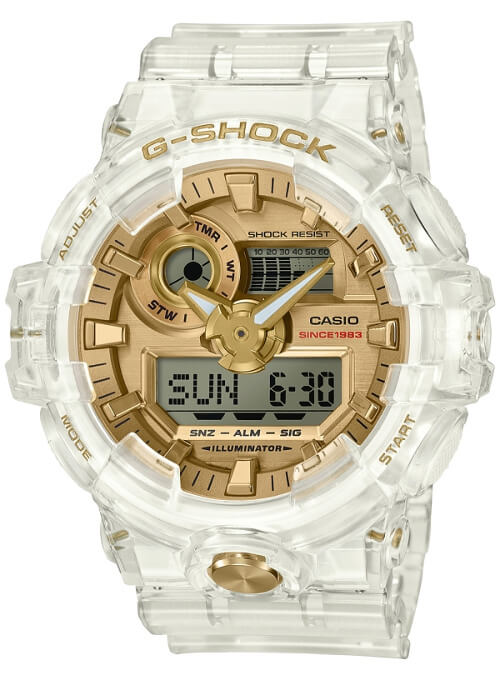 G-Shock GA-735E-7A Glacier Gold 35th Anniversary