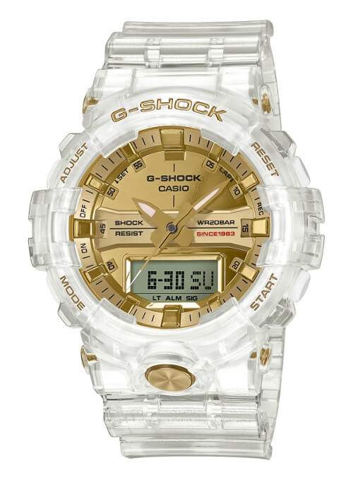 G-Shock GA-835E-7A Glacier Gold 35th Anniversary