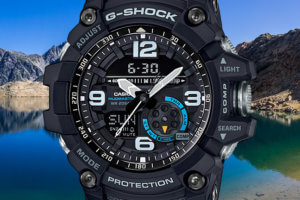 casio g shock watch how to make dark background light