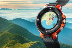 Casio Pro Trek Smart WSD-F30 smartwatch has a smaller case, better power management, and improved dual-layer display
