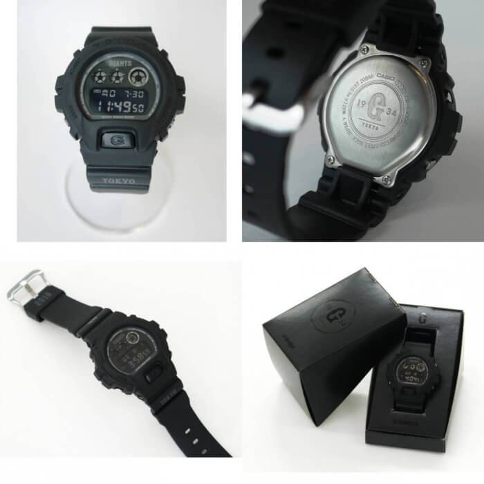Yomiuri Giants x G-Shock DW-6900 2018 Collaboration Watch