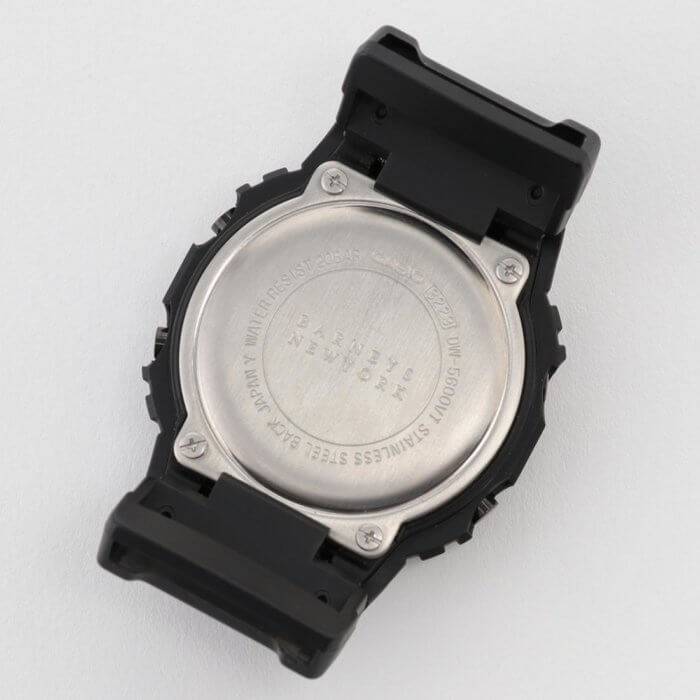 Barneys New York x G-Shock DW-5600 Case Back
