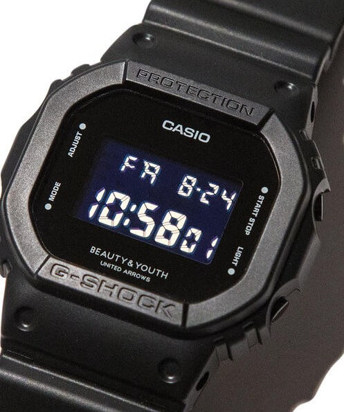Beauty & Youth United Arrows x G-Shock DW-5600 Collaboration Watch