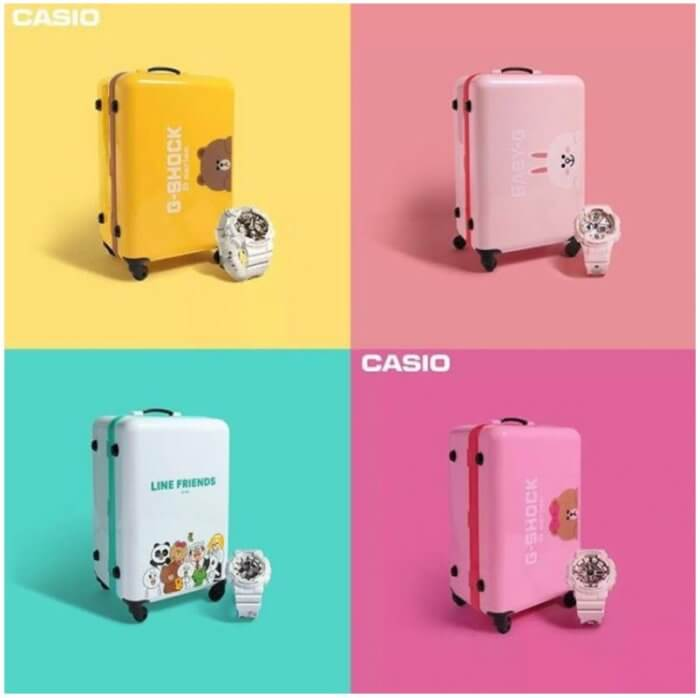 Line Friends x Casio Baby-G and G-Shock Cases