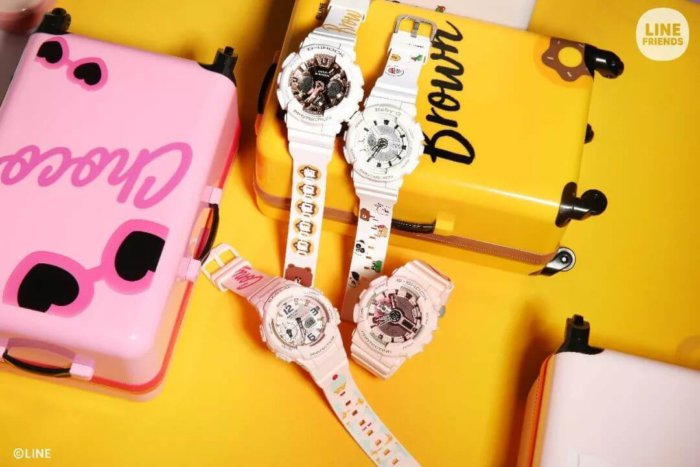 Line Friends x Casio Baby-G & G-Shock S Series 2018 China Collaboration Watches