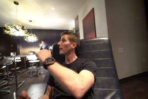 Linus Tech Tips wears Pro Trek WSD-F20 smartwatch