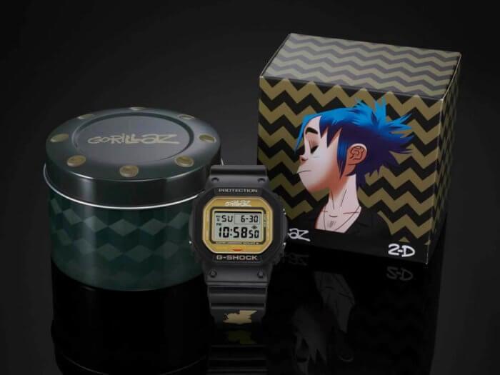 GORILLAZ X G-SHOCK DW-5600GRLZ2-1 2-D
