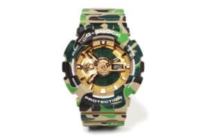 "A Bathing Ape x G-Shock GA-110 ""BAPE XXV"" Collaboration Watch"