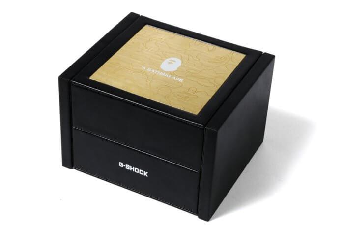 "A Bathing Ape x G-Shock GA-110 ""BAPE XXV"" Box"