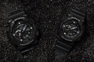 G-Shock GA-135DD-1A Baby-G BA-135DD-1A Diamond Index