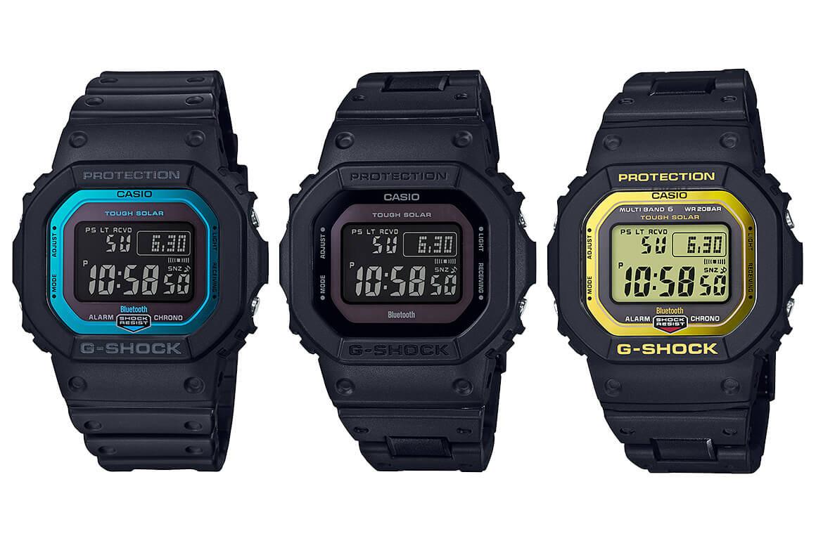 G Shock Gw B5600 Gw B5600bc Tough Solar Bluetooth Multi Band 6