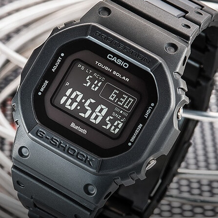 G-Shock GW-B5600BC-1 with Bluetooth, Tough Solar, Multi-Band 6