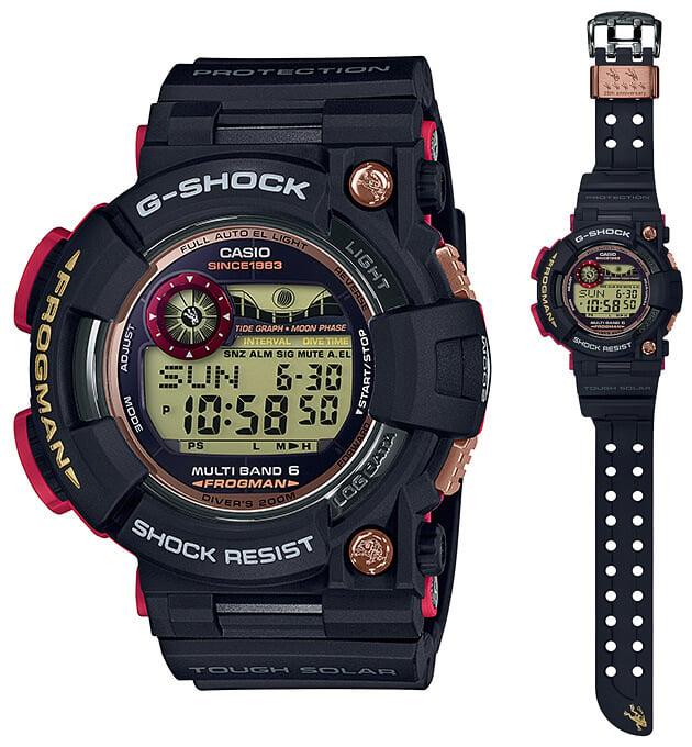G-Shock GWF-1035F-1 Frogman Magma Ocean 35th Anniversary