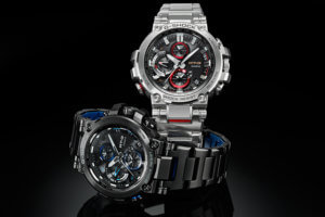 G-Shock MTG-B1000BD-1A & MTG-B1000D-1A with Stainless Steel Band (US: MTGB1000BD-1A & MTGB1000D-1A)