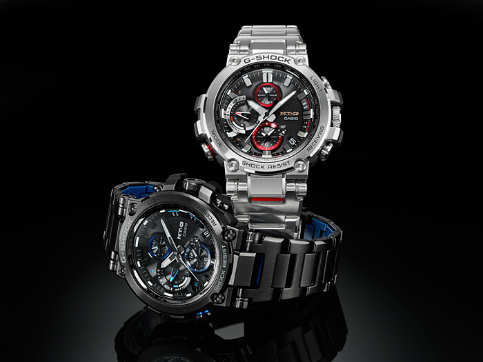 G Shock Mtg B1000bd 1a Mtg B1000d 1a With Stainless Steel Band Us
