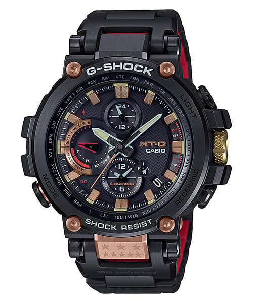 G-Shock MTG-B1000TF-1A 35th Anniversary Magma Ocean Edition
