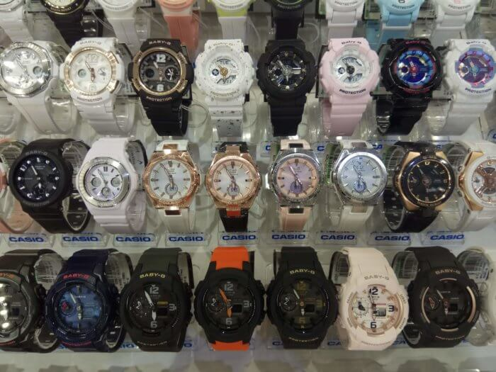 Incheon Airport Casio Baby-G Watches