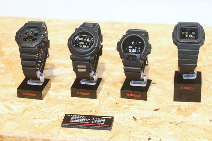 Classic Basic Black G-Shock DW-D5500BB-1JF DW-5900BB-1JF DW-6900BBA-1JF G-001BB-1JF