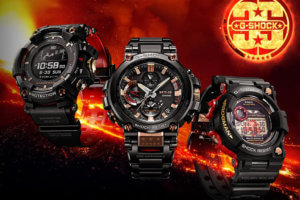G-Shock 35th Anniversary Magma Ocean Collection with Rangeman, Frogman, MT-G