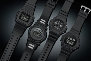 G-Shock Classic Basic Black Series November 2018