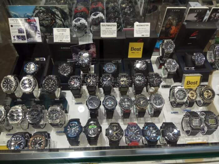 Incheon Airport Casio G-Shock Watches