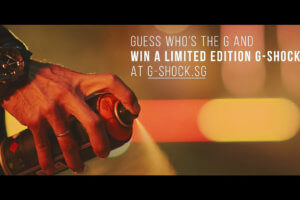 G-Shock Singapore 'We The Gs' 35th Anniversary campaign