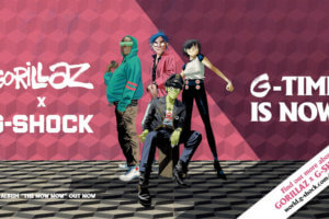 """Gorillaz x G-Shock """"G-Time is Now"""" Mission M101 Collaboration"""