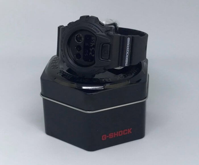 The Kickz Stand x G-Shock DW-6900 Box