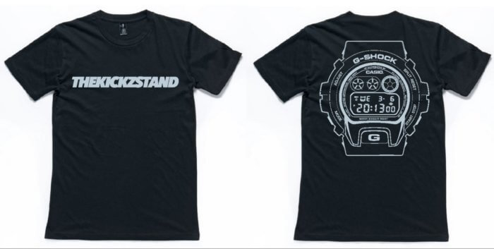 The Kickz Stand x G-Shock DW-6900 T-Shirt