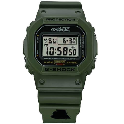 G-Shock DW-5600GRLZM-3ER Murdoc