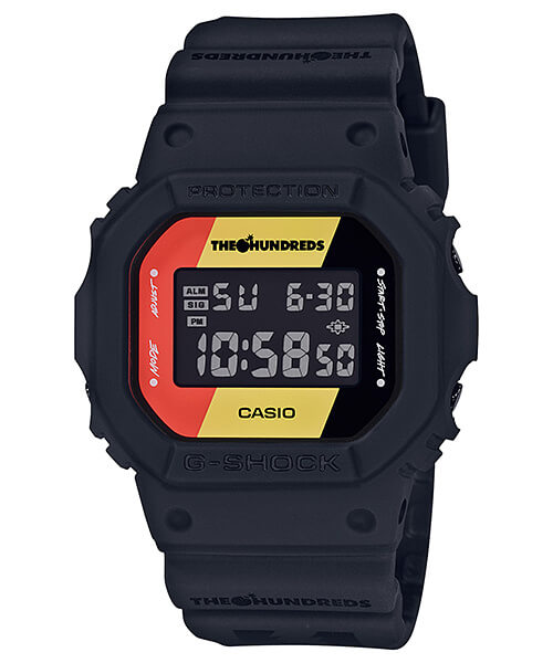 The Hundreds x G-Shock DW-5600HDR-1