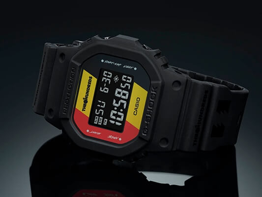 The Hundreds x G-Shock DW-5600HDR Collaboration Watch