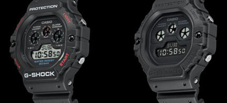 G-Shock DW-5900-1 DW-5900BB-1 DW-5900 Revivial