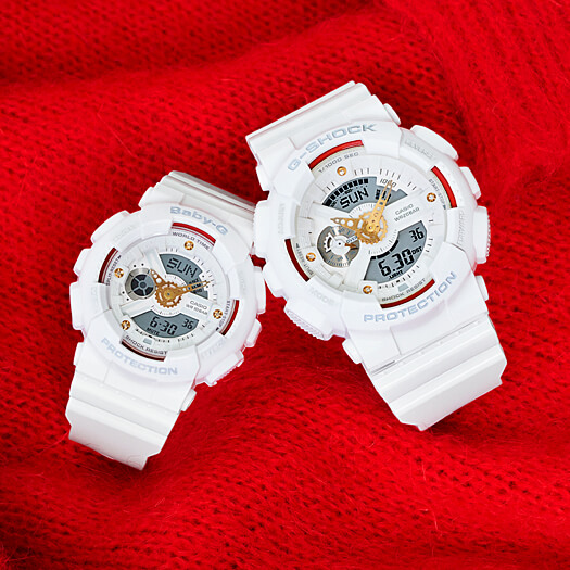 G-Shock GA-110DDR-7A and Baby-G BA-110DDR-7A